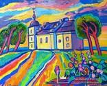 Суботівська церква, усипальниця Б.Хмельницького, полотно, олія, 50Х40, 2018 photo 1
