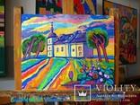 Суботівська церква, усипальниця Б.Хмельницького, полотно, олія, 50Х40, 2018 photo 2
