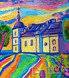 Суботівська церква, усипальниця Б.Хмельницького, полотно, олія, 50Х40, 2018 photo 3