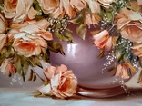 Персиковые розы photo 2