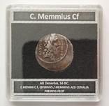 Денарий Римской республики Г. Меммий photo 5