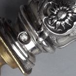 Сервировочный нож-лопатка, серебро, Франция, ар-нуво (модерн). photo 6