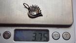 Кулон серебро 925 проба. Вес 3.73 г, фото №6
