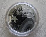 Капитан Америка серебро 9999` Тувалу 2019г, фото №2