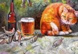 Рыба пиво кот, фото №3