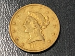 10 долларов сша 1847 золото photo 3