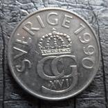 5 крон 1990  Норвегия    (Ь.9.3)~, фото №2