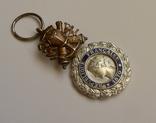 Французская военная медаль 1970 г. в серебре. photo 2