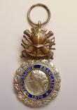 Французская военная медаль 1970 г. в серебре. photo 5