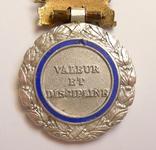 Французская военная медаль 1970 г. в серебре. photo 8