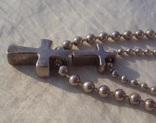 Цепочка перлина жемчужина 925., фото №6