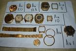 Позолоченные часы и корпуса au 20 au 10 au 12,5 au 5 au photo 1