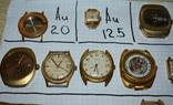 Позолоченные часы и корпуса au 20 au 10 au 12,5 au 5 au photo 2