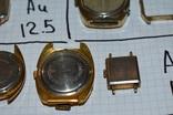 Позолоченные часы и корпуса au 20 au 10 au 12,5 au 5 au photo 10