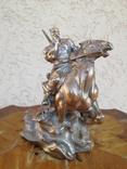 Козак на коні. Авторська робота