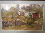 Картина Деревня Ковалёв В.Н photo 2