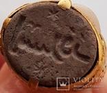 Перстень 11-13 век, золото ,камень photo 4