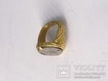 Перстень 11-13 век, золото ,камень photo 7