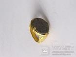 Перстень 11-13 век, золото ,камень photo 8