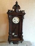 Часы настенные Павел Буре Lenzkirch, большие . На ходу. photo 2