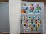 Альбом марок флора и фауна негашеные и гашеные около 640 шт. photo 1