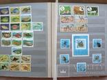 Альбом марок флора и фауна негашеные и гашеные около 640 шт. photo 6