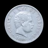 500 Рейс 1896 Карлос І, Португалия, фото №2
