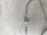 Серебряная цепочка с бантиком, фото №6