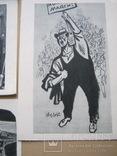Набор открыток Скульптура и графика США, фото №5