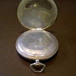 Карманные Omega калибр 35,5L, серебро 900пр. photo 9