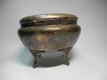 Шкатулка для украшений ( серебрение , клеймо ), фото №5