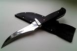 Охотничий нож, бонусом хорошие ножны в коже photo 1