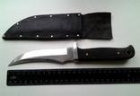 Охотничий нож, бонусом хорошие ножны в коже photo 2