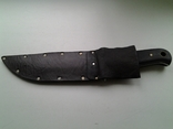 Охотничий нож, бонусом хорошие ножны в коже photo 10