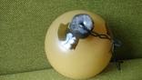 Шар Мишка ручной окрас толстое стекло, фото №6