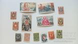 Почтовые марки Царской России + марки Франции 1970-х, фото №2