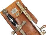 Масонский церемониальный меч + родной чехол, 1890-1920 годы, photo number 2
