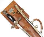 Масонский церемониальный меч + родной чехол, 1890-1920 годы, photo number 4