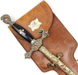 Масонский церемониальный меч + родной чехол, 1890-1920 годы, photo number 5