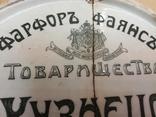 Рекламная тарелочка для денег М.С.Кузнецова Харьков Собственный дом., фото №8