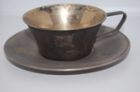 Кофейная пара Серебро 875 (134 грамм) photo 2