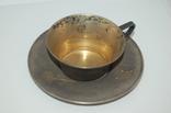 Кофейная пара Серебро 875 (134 грамм) photo 3