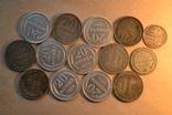 Монеты. Билон. 14 штук. photo 1
