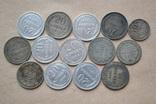 Монеты. Билон. 14 штук. photo 2