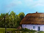 Сельский пейзаж.30х40 Шаркади Н., фото №3