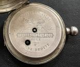 Серебряные часы GEORGES FAVRE JACOT - 84 проба photo 8