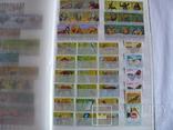 Около 200 марок и 56 сцепок,м.л., темы Фауна,флора в альбоме, фото №5