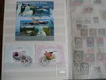 Около 200 марок и 56 сцепок,м.л., темы Фауна,флора в альбоме photo 9