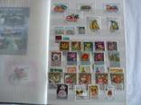 Около 200 марок и 56 сцепок,м.л., темы Фауна,флора в альбоме photo 10