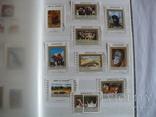 Около 200 марок и 56 сцепок,м.л., темы Фауна,флора в альбоме, фото №13